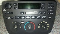 black car stereo head unit radio ford taurus