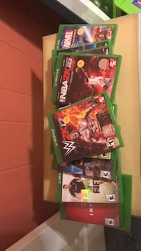 xbox one games lot of 12 Gaithersburg, 20882
