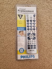 Philips Universal remote new in package  Herndon, 20170