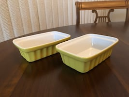 Set of Two 8 oz. Casserole Dishes