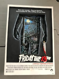Mcfarlane 3d poster. Friday the 13th   Vaughan, L4L 8E6