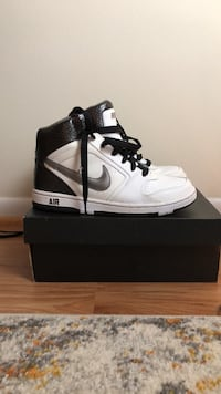 pair of white Air Jordan 1's with box Silver Spring, 20903