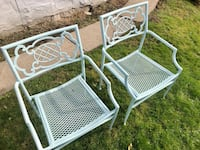 Set of 2 - Vintage Patio Chairs 191 mi