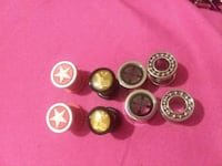 four pairs of silver earrings Reno, 89501