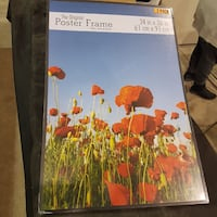 The Original Poster Frame, 24 by 36 Inch, Bla