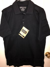 New with Tags Men's 5.11 Tactical Series SMALL Navy Polo Shirt Fade, Wrinkle & Shrink Resistant!  Visalia, 93292