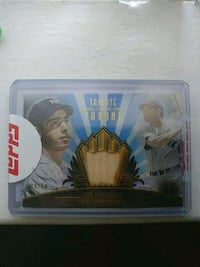 Joe DiMaggio game used piece of bat card Santa Rosa, 95403