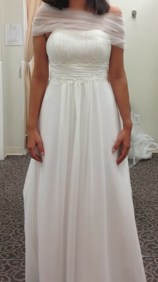 David S Bridal Wedding Gown Size 6