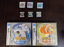 8 Pokémon Nintendo DS And 3DS Games - Prices Listed In Ad