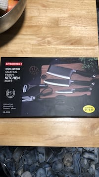 Knife set stainless steel NEW Montreal