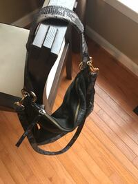 black and white leather crossbody bag Leesburg, 20176