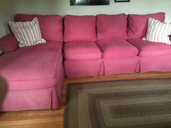 Admirable 2 Piece Sectional Couch With Chase Lounge Inzonedesignstudio Interior Chair Design Inzonedesignstudiocom