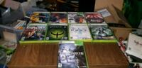 Xbox 360 games 10$ each Waterloo, N2J 2A2
