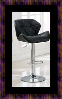 Black bar stool Fairfax