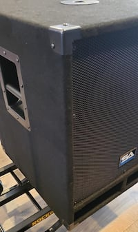 "Pair Seismic Audio Baby Tremor 15"" Powered Subwoofer"