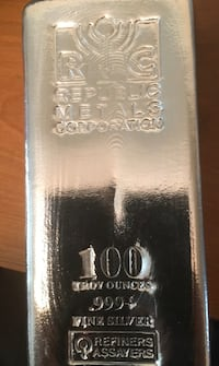 Wow 100 oz silver bar Annapolis Junction, 20701