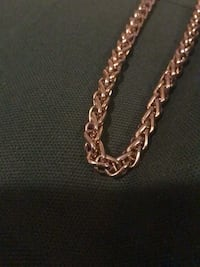 DeMarcus Alexan Gold Plated Rope Necklace Hampton, 23666