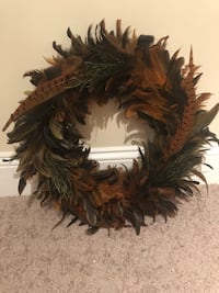 Feather wreath Baltimore, 21211