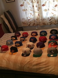 $15 each most brand new Mitchell and ness snap backs pickup BURLINGTON  Burlington, L7M 0C8