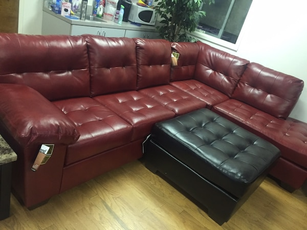 New Leather Sectional - 3 colors - Ashley Furniture