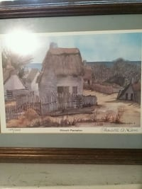 Plimoth  Plantation / In wooden frame Lusby, 20657