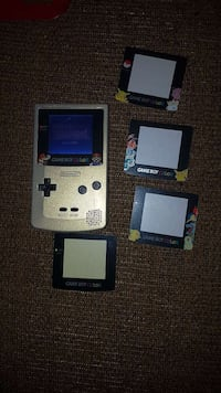Gameboy color with front light mod