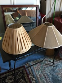two beige lamp shades San Diego, 92129