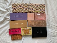 Assorted Eyeshadow Palettes
