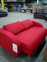 New Red Sofa Bed TORONTO