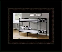 Twin bunkbed frame with 2 mattress Alexandria, 22305