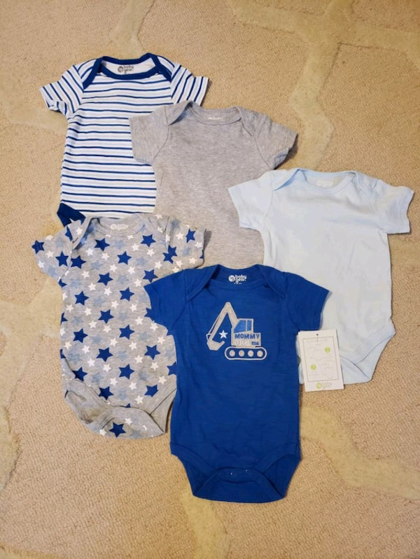 Babies assorted clothes