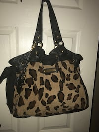 Juicy cloture cheetah purse  2358 mi