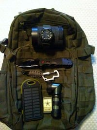 Tactical backpack with accessories Colorado Springs, 80922