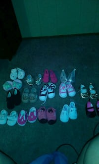 assorted pairs of shoes lot Lafayette