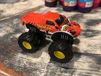 red and black monster truck toy Surrey, V3S 8Z4