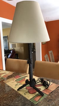 black and white table lamp Fort Lauderdale, 33304