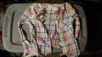 white, pink, and black plaid dress shirt Grand Rapids, 49504