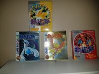 Pokemon games in the box new Japanese  Carson, 90810
