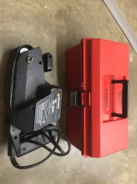 "Black & Decker 3"" x 21"" belt sander. 1/3 hp model number 7447. Comes with caring case.  Also comes with several sanding belts. Washington, 20006"