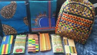 African fabric made  laptop bag/backpack & wallets Calgary, T3J 2V8
