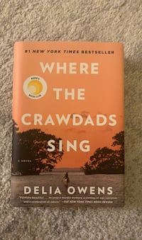 Like New Hardcover WHERE THE CRAWDADS SING by Delia Owens Arlington, 22203