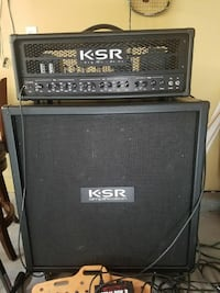 black KSR guitar amplifier Watsonville, 95076