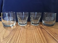 Chivas Regal and Bacardi Glasses Westville, 46391