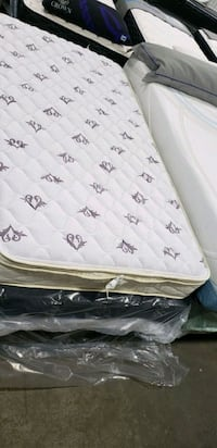 Plush Euro Top twin mattress