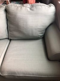 Gray fabric 3-seat sofa Washington, 20003