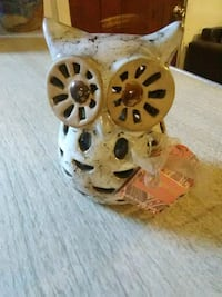 Clay owl with Sandalwood fragrance incense 831 mi