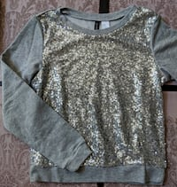 NEW // Sequined sweater - Size XS or 34