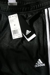 Addidas soccer sweat pants with zippers LAKESIDE