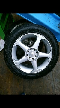 "17"" 4 bolt set of 4 nice tires Edmonton, T6R 0G3"