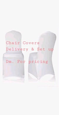 Chair Covers for Rent. Burlington